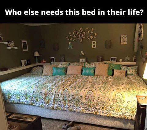 oversized mattress